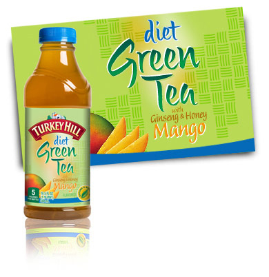 Turkey Hill Diet Green Tea Mango Iced Tea