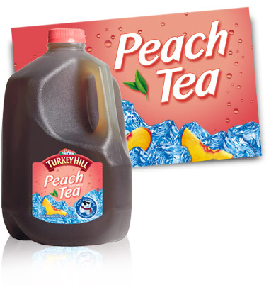 Turkey Hill Peach Tea Iced Tea