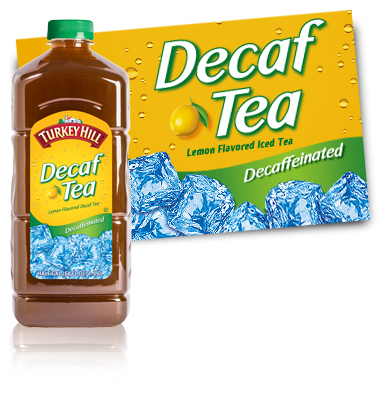 Turkey Hill Decaffeinated Iced Tea Iced Tea