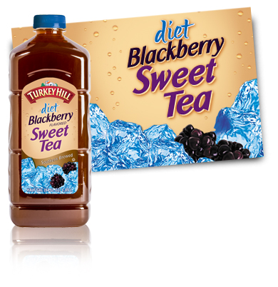 Turkey Hill Diet Blackberry Sweet Tea Refrigerated Tea