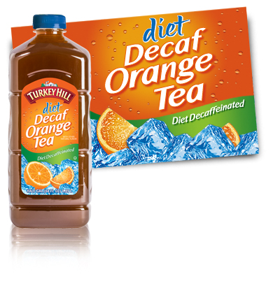 Turkey Hill Diet Decaffeinated Orange Tea Refrigerated Tea