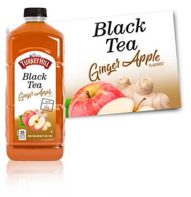 Turkey Hill Ginger Apple Black Tea Iced Tea