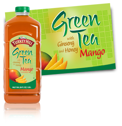 Turkey Hill Green Tea Mango Iced Tea