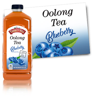 Turkey Hill Blueberry Oolong Tea  Iced Tea