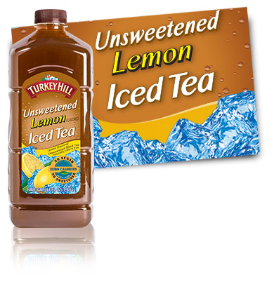 Turkey Hill Dairy Unsweetened Lemon Iced Tea