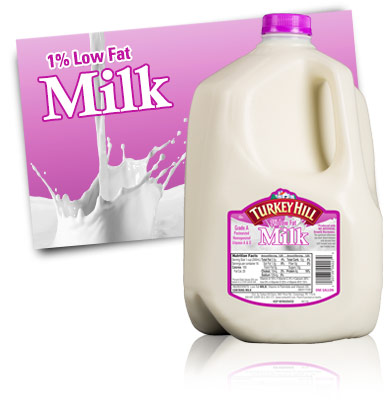 Turkey Hill 1% Low Fat Milk Milk