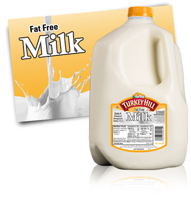 Turkey Hill Fat Free Milk Milk