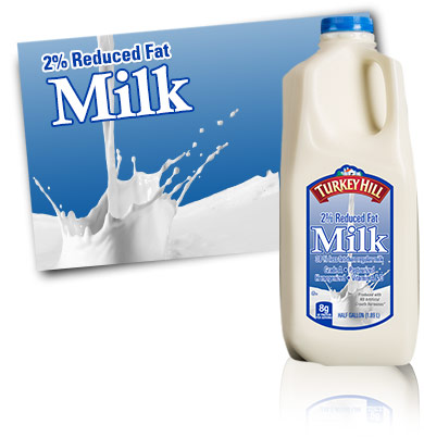 Turkey Hill 2% Reduced Fat Milk Milk