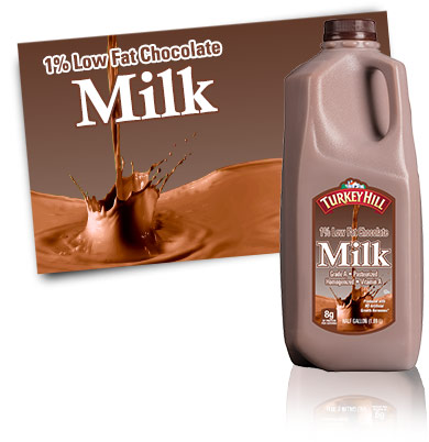Turkey Hill Premium 1% Lowfat Chocolate Milk Milk