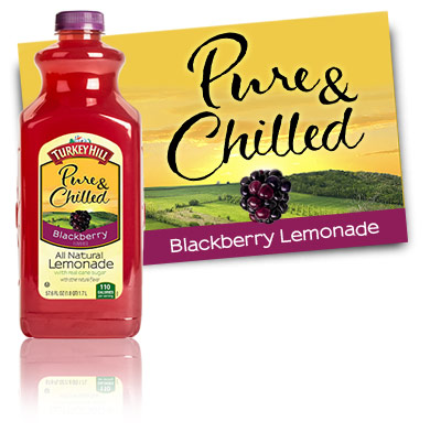 Turkey Hill Blackberry Lemonade All Natural Lemonade