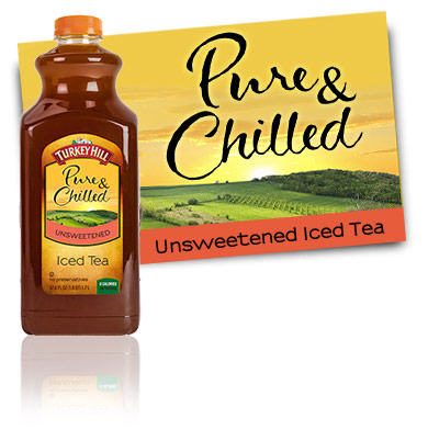 Turkey Hill Unsweetened Iced Tea Pure & Chilled