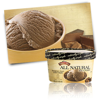 Turkey Hill Belgian Style Chocolate All Natural Ice Cream