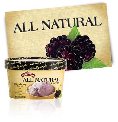 Turkey Hill Blackberry Swirl All Natural Ice Cream