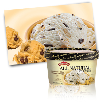 Turkey Hill Chocolate Chip Cookie Dough All Natural Ice Cream