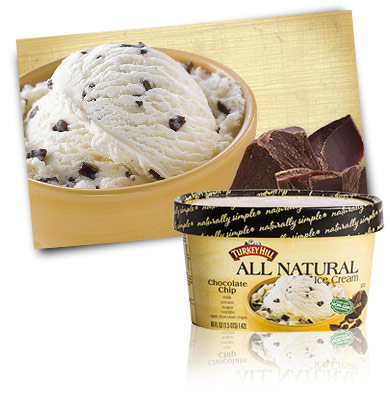 Turkey Hill Chocolate Chip All Natural Ice Cream