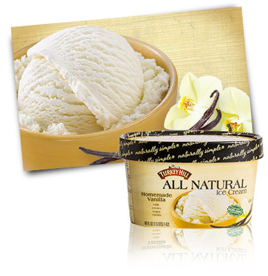 Turkey Hill Homemade Vanilla All Natural Ice Cream
