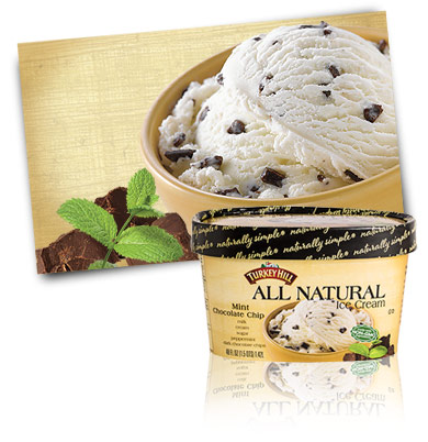 Turkey Hill Mint Chocolate Chip All Natural Ice Cream