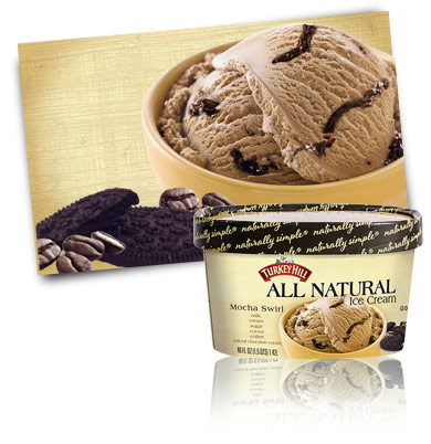 Turkey Hill Mocha Swirl All Natural Ice Cream