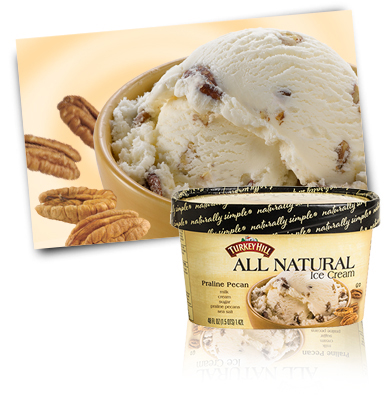 Turkey Hill Praline Pecan All Natural Ice Cream