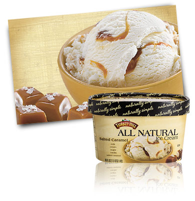 Turkey Hill Salted Caramel All Natural Ice Cream