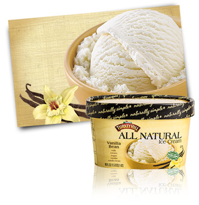turkey hill vanilla ice cream gluten free