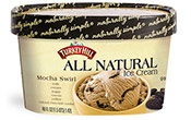 Mocha Swirl All Natural Ice Cream