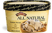 Praline Pecan All Natural Ice Cream