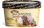 Chocolate Raspberry Bliss Trio'politan™ All Natural Ice Cream
