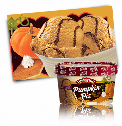 Turkey Hill Pumpkin Pie  Frozen Dairy Desserts