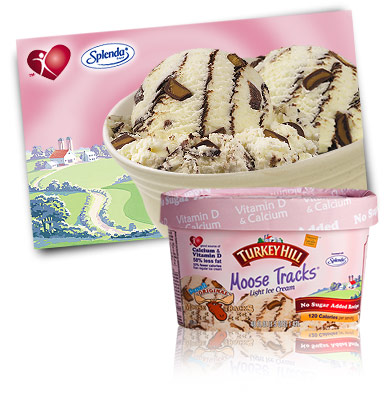Turkey Hill Moose Tracks® No Sugar Added Ice Cream