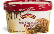 Milk Chocolate Fudge Premium Ice Cream