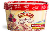 Raspberry Cream Swirl Premium Ice Cream