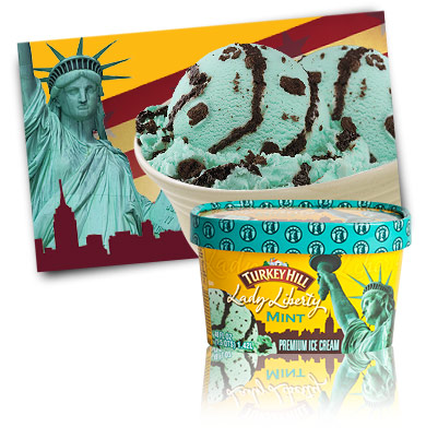 Turkey Hill Lady Liberty Mint Premium Ice Cream