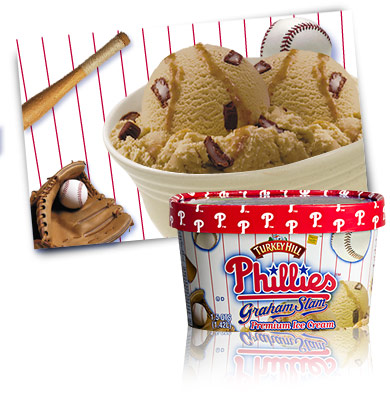 Turkey Hill Phillies™ Graham Slam Premium Ice Cream