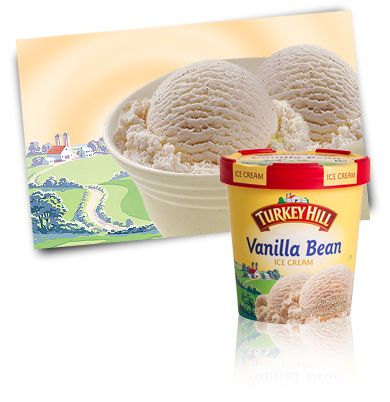 Turkey Hill Vanilla Bean Premium Ice Cream