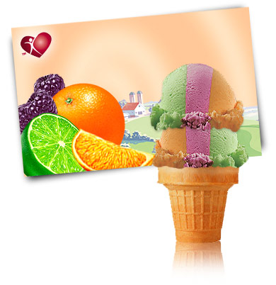 Turkey Hill Fruit Rainbow Sherbet Sherbet