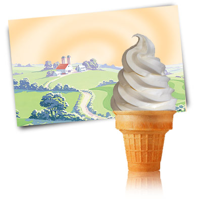 Turkey Hill Vanilla 5% Soft Serve Soft Serve Ice Cream