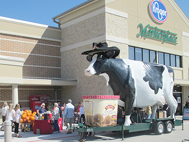 Win a Turkey Hill Giant Cow visit to your birthday party