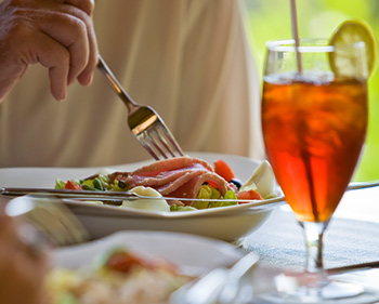 Pairing food with the right iced tea flavor