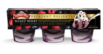 Mixed Berry Decadent Delights Parfaits