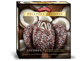 Coconut Decadent Delights Bars