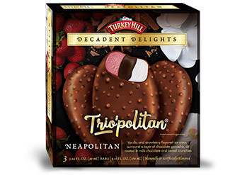 Neapolitan Decadent Delights Bars