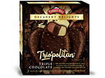 Triple Chocolate Decadent Delights Bars