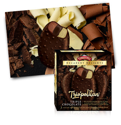Turkey Hill Triple Chocolate Decadent Delights Bars