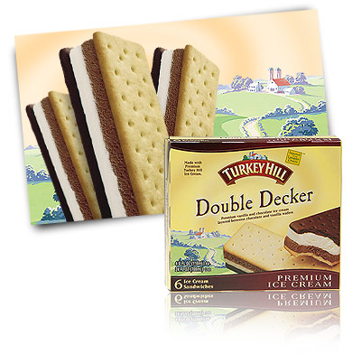 Turkey Hill Double Decker Ice Cream Sandwiches