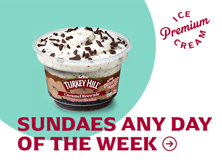Turkey Hill Layered Sundaes