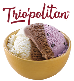 Trio'politan Ice Cream